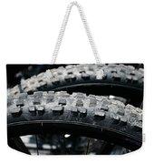 Mountain Bike Tires Weekender Tote Bag