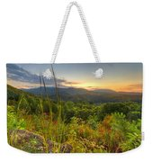 Mountain Evening Weekender Tote Bag