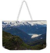 Mountain Flock Weekender Tote Bag by Mike Reid