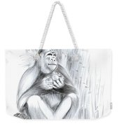 Mountain Gorilla 02 Weekender Tote Bag