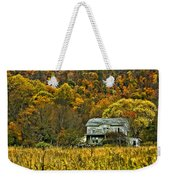 Mountain Home Painted Weekender Tote Bag