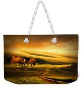 Mountain Horses Weekender Tote Bag