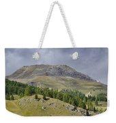 Mountain In St Moritz Weekender Tote Bag