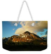 Mountain In The Morning Weekender Tote Bag