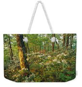 Mountain Laurel Blooming In A Hyner Weekender Tote Bag