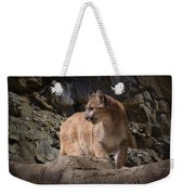 Mountain Lion On The Prowl Weekender Tote Bag