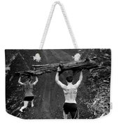 Mountain Lunges Weekender Tote Bag
