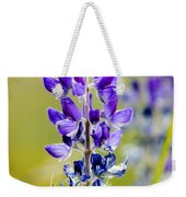 Mountain Lupine Glacier National Park Weekender Tote Bag
