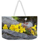 Mountain Monkey Flower Weekender Tote Bag