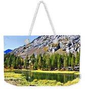 Mountain Pond Weekender Tote Bag