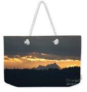 Mountain Sunrise Weekender Tote Bag