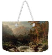 Mountain Torrent Smaland Weekender Tote Bag