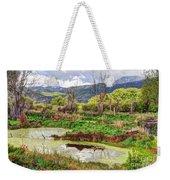 Mountain Valley Marsh - Hdr Weekender Tote Bag
