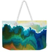 Mountainous Weekender Tote Bag