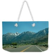 Mountains Ahead Weekender Tote Bag