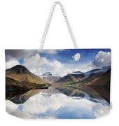 Mountains And Lake, Lake District Weekender Tote Bag