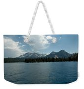 Mountains On The Lake Weekender Tote Bag