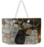 Mounted Moose Weekender Tote Bag