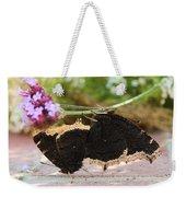 Mourning Cloak Butterfly Lovin' Weekender Tote Bag