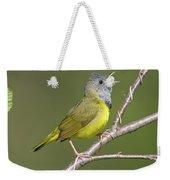 Mourning Warbler Oporornis Philadelphia Weekender Tote Bag