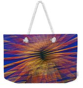 Moving Abstract Lights Weekender Tote Bag