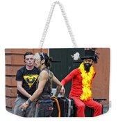 Moving Star Weekender Tote Bag