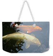 Mr And Mrs Koi Weekender Tote Bag