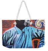 Mr. Nelson Mandela Weekender Tote Bag