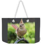 Mrs Cardinal Weekender Tote Bag