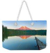 Mt. Adams Alpenglow Weekender Tote Bag