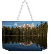 Mt Lassen In Summit Lake Weekender Tote Bag