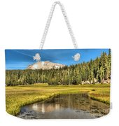 Mt Lassen Reflections Weekender Tote Bag