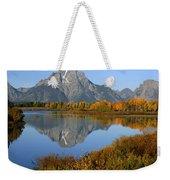 Mt. Moran Reflection Weekender Tote Bag