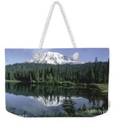 Mt. Ranier Reflection Weekender Tote Bag