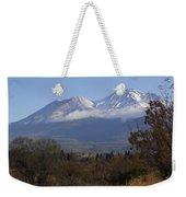 Mt Shasta Autumn II Weekender Tote Bag