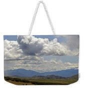 Mt Shasta On A Showery Spring Day Weekender Tote Bag