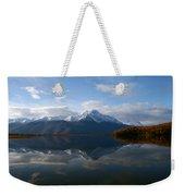 Mud Lake Reflection Weekender Tote Bag