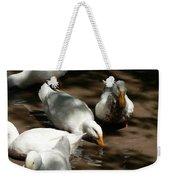 Muddy Ducks Weekender Tote Bag