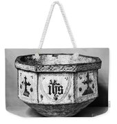 Mudejar Baptismal Font Weekender Tote Bag