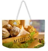 Muffins Fresh And Warm Weekender Tote Bag