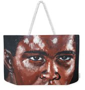 Muhammad Ali Formerly Cassius Clay Weekender Tote Bag