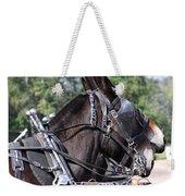 Mule Days - Benson - A Pair Of Aces - Mules Weekender Tote Bag