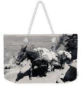 Mule Train Bw Weekender Tote Bag