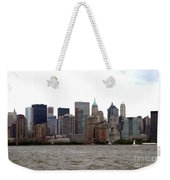 Multi Color Nyc Buildings Weekender Tote Bag