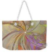 Multi Colored Pinwheel Weekender Tote Bag