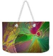 Multi Colored Rainbow Weekender Tote Bag