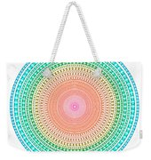 Multicolor Circle Weekender Tote Bag