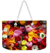 Multicolor Weekender Tote Bag