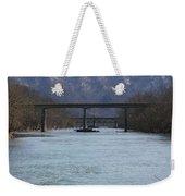 Multiple Bridges Crossing The Holston River Weekender Tote Bag