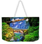 Multnomah Falls Oregon Weekender Tote Bag
